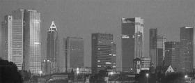 Skyline von Frankfurt/M